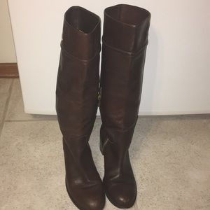 Coach knee-high dress boots